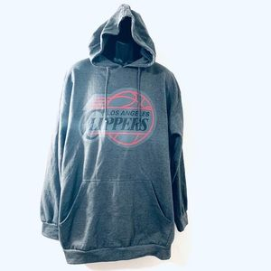 NWOT NBA 🏀 LOS ANGELES CLIPPERS HOODIE SIZE 2XT